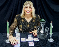 Kristal Kira is the most fun tarot card reader.