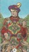 Robin Wood Tarot <br> Minor Arcana <br>6 of Pentacles